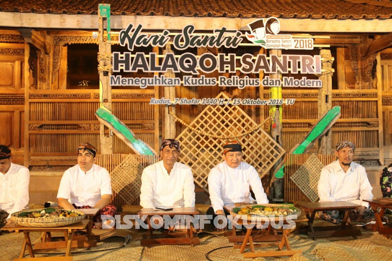 Halaqoh Santri Meneguhkan Kudus Kota Religius dan Modern