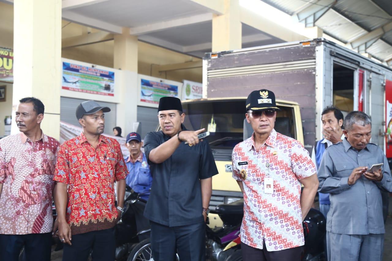 Wakil Bupati Kudus Meninjau Pasar Piji dan Balai Benih Ikan (BBI) Margorejo Dawe