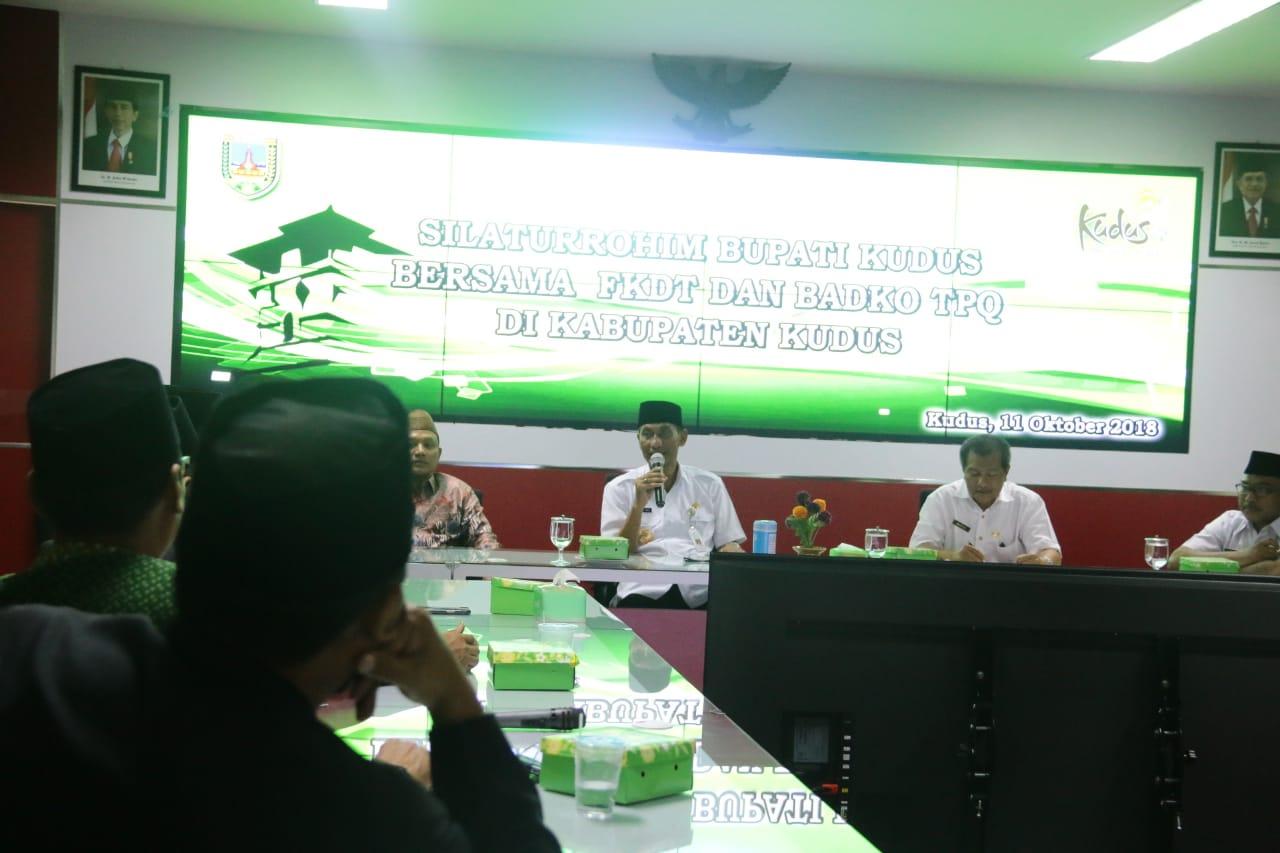 Silaturrahim FKDT dan Badqo TPQ Kabupaten Kudus