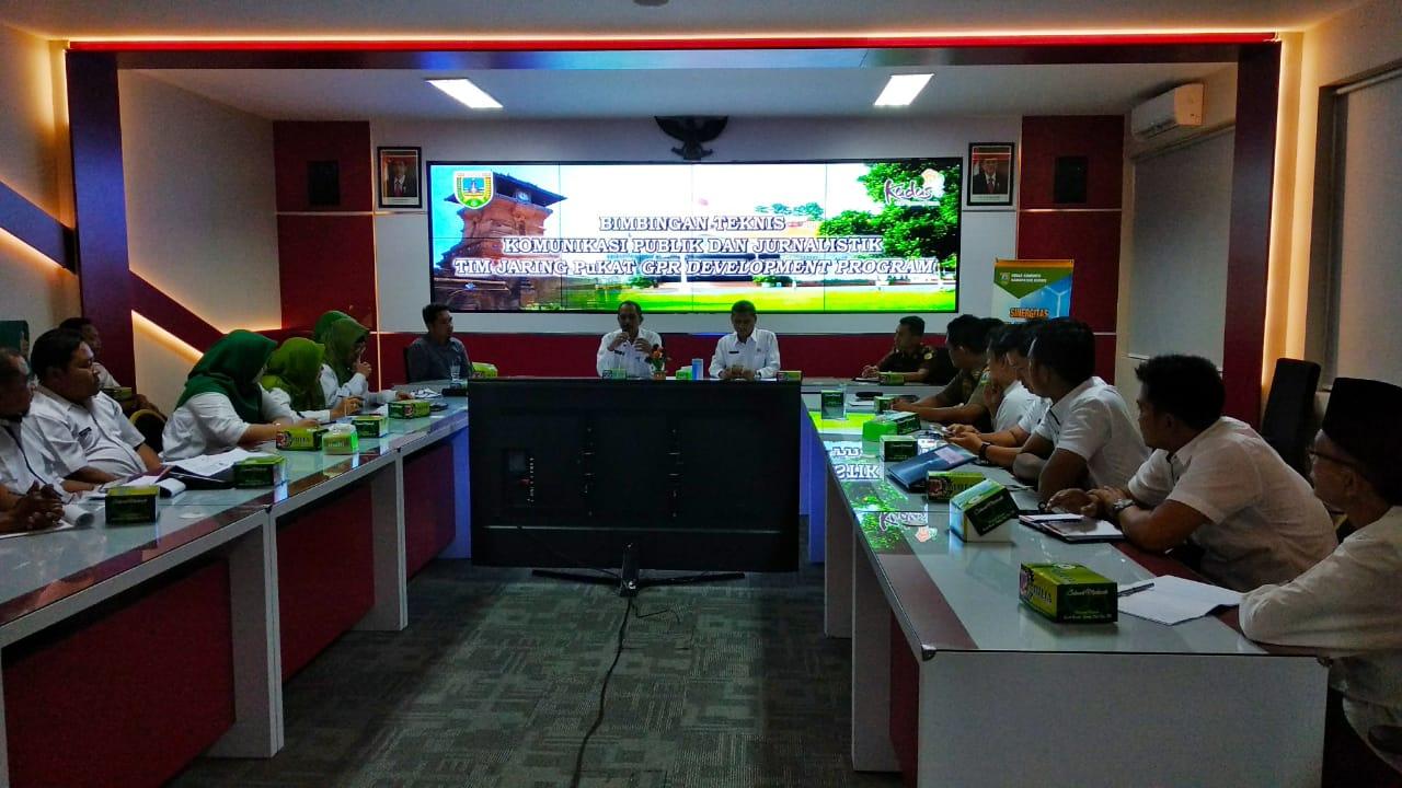 Tim Jaring Pukat GPR Development Program Latihan Menulis Rilis